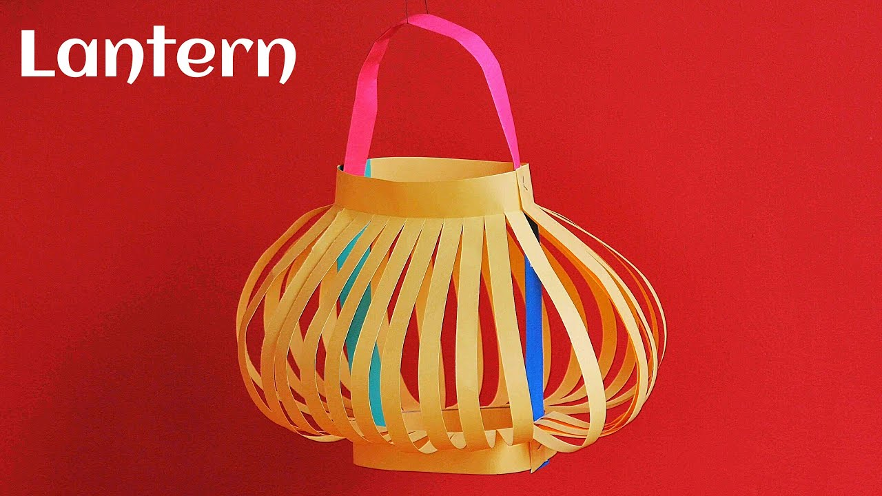 Paper Craft - Lantern 🏮 (Diwali / Christmas / Eid Decoration ... for Diwali Lamp Craft  181plt
