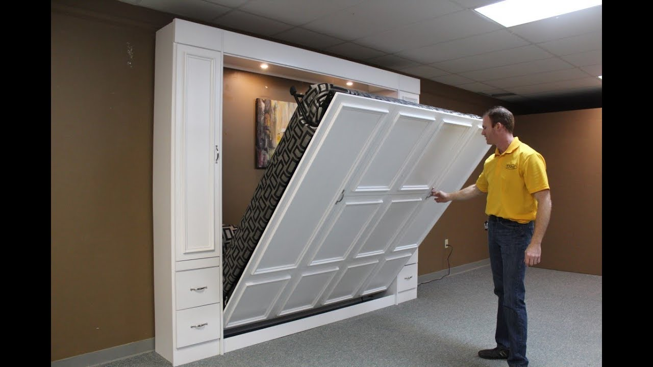 New Yorker King Murphy Bed Youtube
