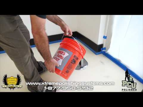 How To Do A Metallic Epoxy Floor in a House Start to Finish