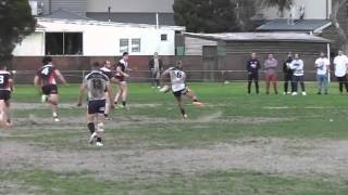 NRL VIC 2015 Elimination Semi Final - TRY in Golden Point