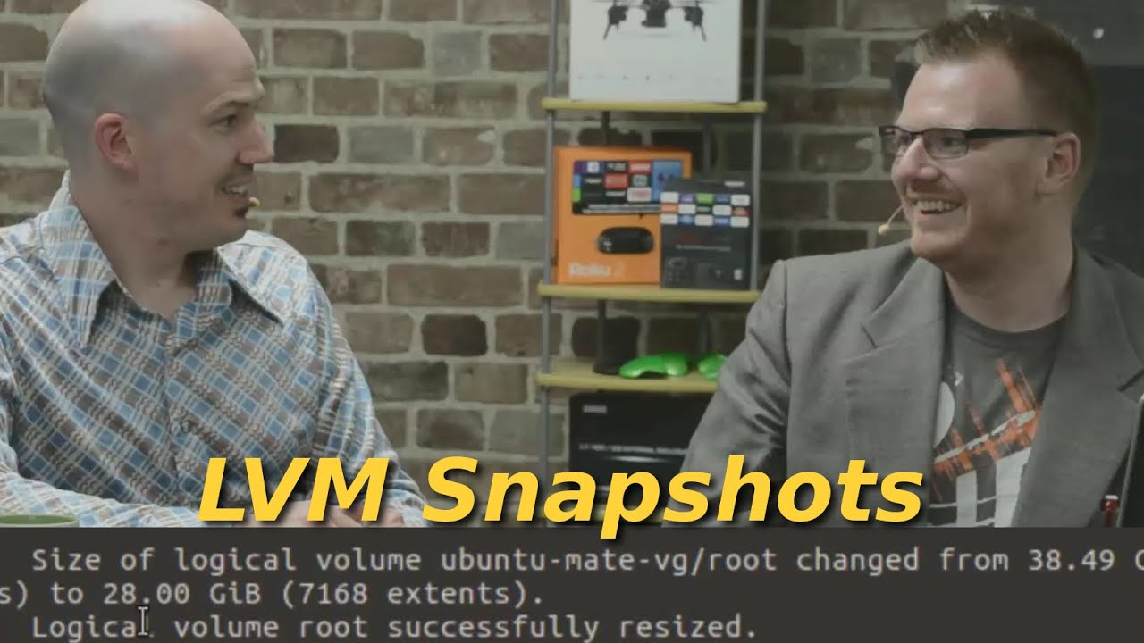 456  Lvm Snapshots  Alternative To Windows Volume Shadow Copy For Linux