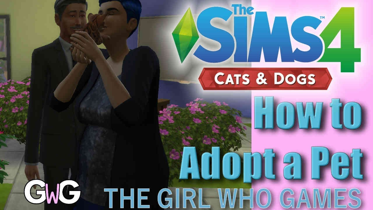 The Sims 4 Cats & Dogs- HOW TO: Adopt a Pet - YouTube