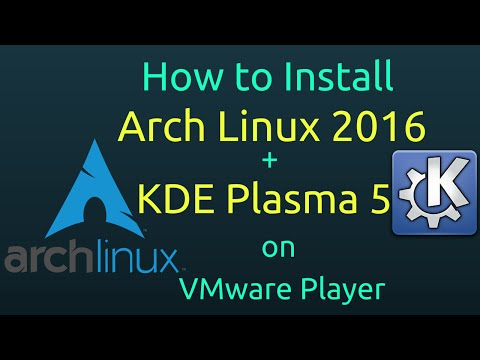 How To Install Kde Plasma Arch Linux