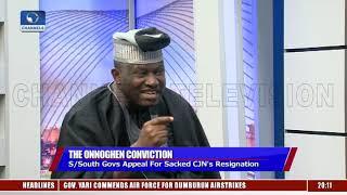 Fundamentally, We Need To Think About Re-Federalising Our Judiciary - Jiti Ogunye |Sunday Politics|