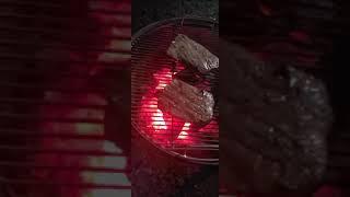 화랑참숫 백탄을 사용해 연기없이 깔끔하게 쇠고기  스테…
