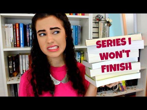 BOOK SERIES I WON'T FINISH