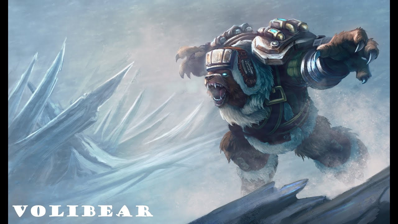 League Of Legends - Volibear (CZ/HD) - YouTube