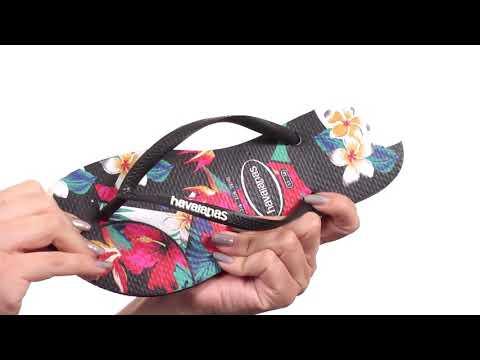 Havaianas Slim Tropical Floral Sandal SKU: 8952732