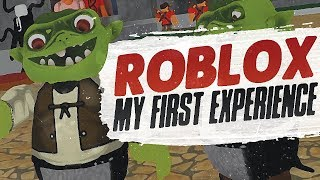 MY FIRST ROBLOX EXPERIENCE