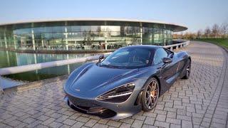 Hier baut McLaren seine Supercars!