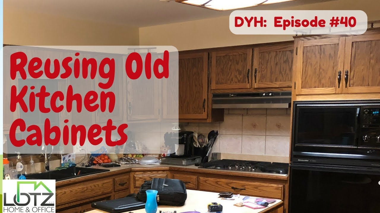 Reusing Old Kitchen Cabinets | Moving Cabinets to Other Areas of Home