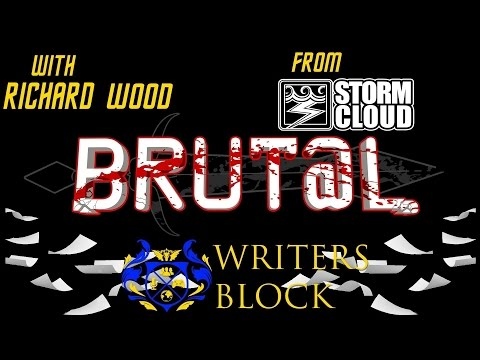 TiC Writers Block| Interview With Richard Wood of @stormcloudgames| BRUT@L