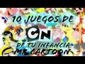 10 Juegos de Cartoon Network de tu infancia | MR. Cartoon