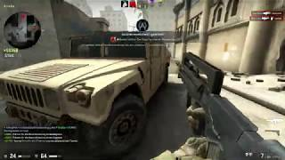 Counter Strike -Silver 1- P90Russian Run and Gun Easy Hermann