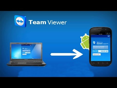 How To Connect Computer With Android Phone Using TeamViewer Urdu/hindi