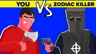 YOU vs THE ZODIAC KILLER - Could You Defeat and Survive Him or Her