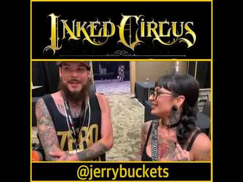 Quick Interview with @jerrybuckets at @inkedcircusexpos