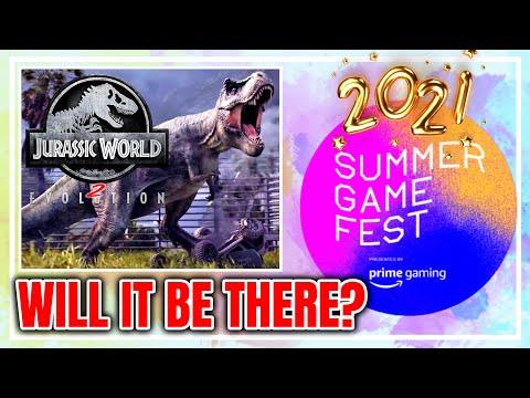Jurassic World Evolution 2 Announcement At Summer Game Fest 2021?  