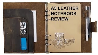 A5 LEATHER NOTEBOOK REVIEW