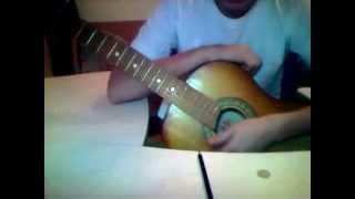 видео урок гитара №1 песня черный бумер