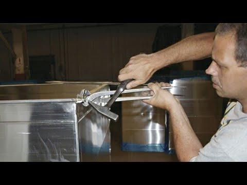 How to make HVAC ducting fabrication GI sheet  in India