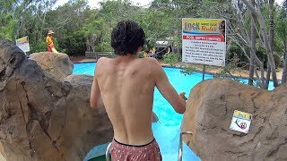 The Rock Speed Water Slide at Jamberoo Action Park