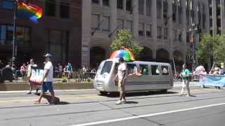 San Francisco Pride Parade 2014 Bay Area Rapid Transit BART Mobile
