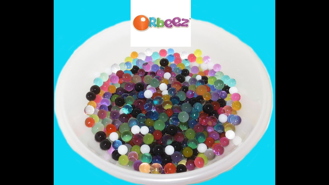 How To Make Orbeez Water Beads Tutorial Play Easy Diy Make Your Own