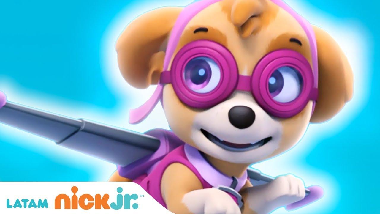 Paw Patrol, Patrulla de cachorros | 🌸 Lo Mejor de Skye 🌸 | Nick Jr. en Español