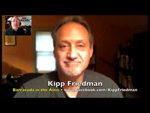 Kipp Friedman found dad Bruce's Barracuda in the Attic! INTERVIEW