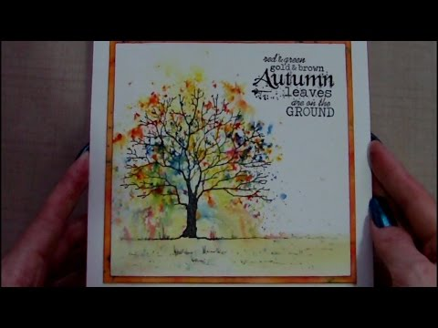 Autumn / Fall / Thanksgiving Card Series  Day 1 0f 7