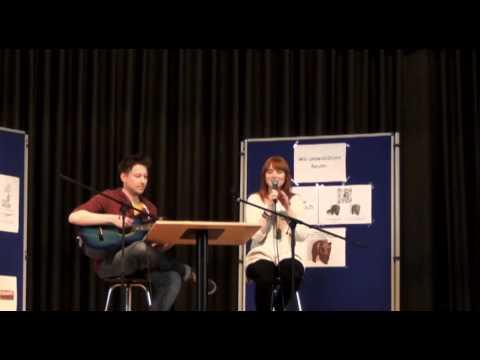 Franciska Friede singt Because of you und Der Blender