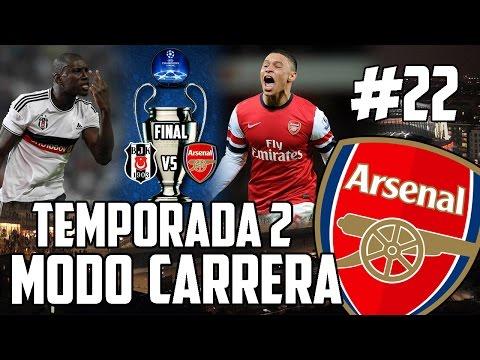 FIFA 15   MODO CARRERA T2 - ARSENAL   ¡FINAL UEFA CHAMPIONS LEAGUE EN 2.0! #22