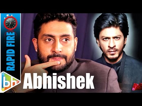 Abhishek Bachchan's SUPER-HIT Rapid Fire On Shah Rukh | Aamir | Hrithik | Akshay