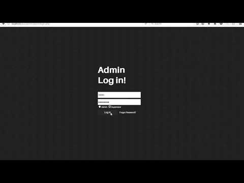 Dummy Pos System Using Html And PHP