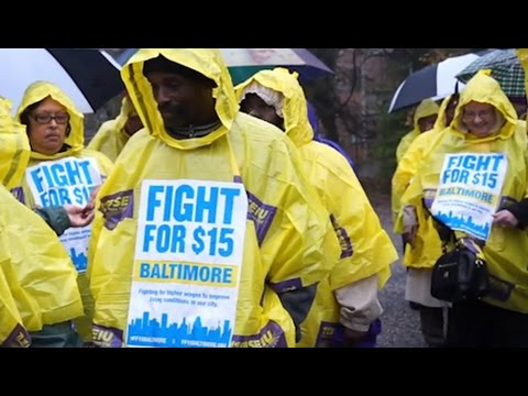 Baltimore Poised to Pass $15 Min. Wage as Business Lobby Launches Nationwide Rollback Campaign