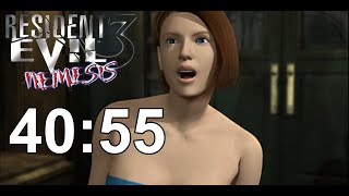Resident Evil 3 Any% Speedrun World Record 40:55