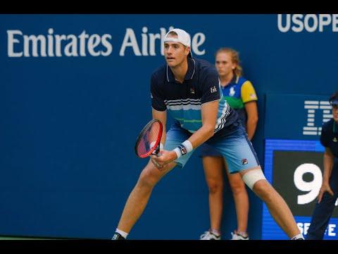 John Isner Vs Jan-Lennard Struff   US Open 2019 R2 Highlights