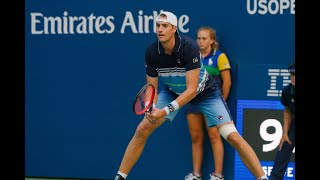 John Isner vs Jan-Lennard Struff | US Open 2019 R2 Highlights