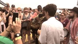 Newport Folk Fest 2015 - Jon Batiste & Stay Human