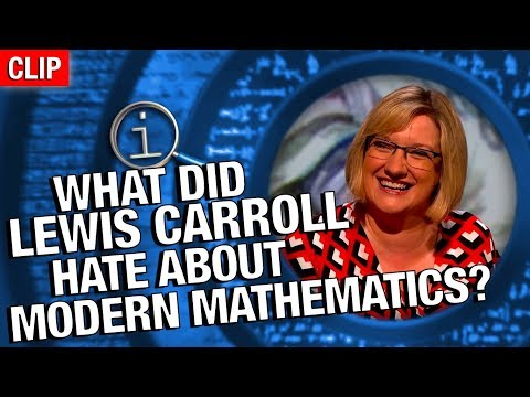 Thumbnail: QI | What Is There To Dislike About Modern Mathematics?