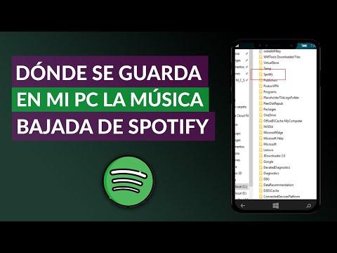 Dónde se Guarda en mi PC la Música que Descargo de Spotify