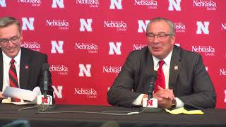 New Nebraska athletic director Bill Moos on what attracted him to t...
