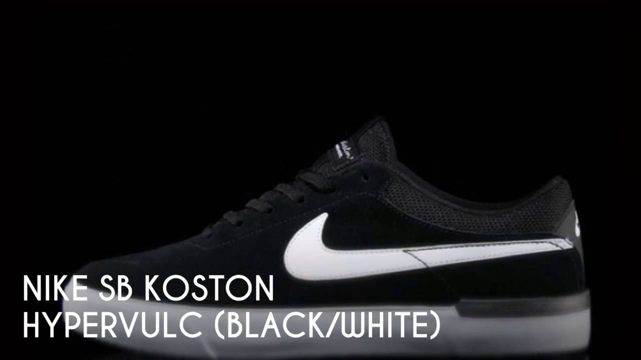 f9eef0f058c NIKE SB KOSTON HYPERVULC (BLACK WHITE)   PEACE X9 - YouTube