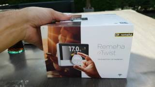 Remeha etwist slimme thermostaat unboxing 1