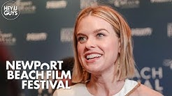 Alice Eve on Belgravia - Julian Fellowes' Downton Abbey follow up - Newport Beach Film Festival