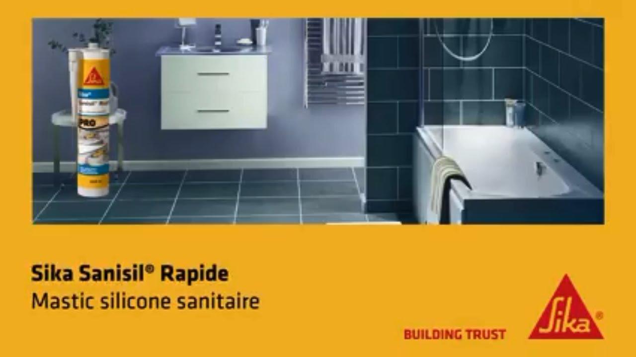 Comment refaire un joint de salle de bain?