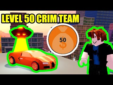 GETTING LEVEL 50 CRIMINAL TEAM | Roblox Jailbreak Season 4