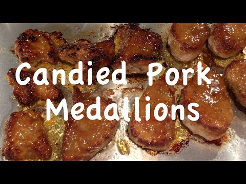 Recipe: Candied Pork Medallions