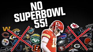 One OBVIOUS Reason Why Your FAVORITE NFL Team WON'T WIN Super Bowl 55